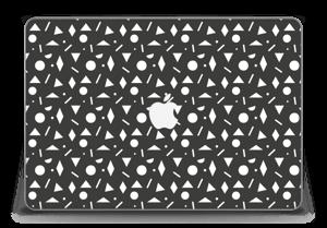 "Geometriset kuviot tarrakuori MacBook Pro Retina 15"" 2015"
