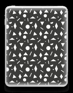 Geometriset kuviot tarrakuori IPad 1