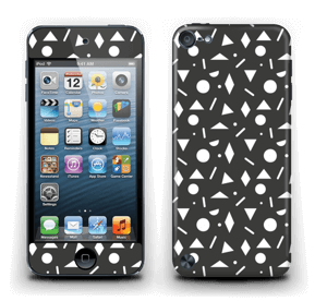 Black & White Art Skin IPod Touch 5th Gen
