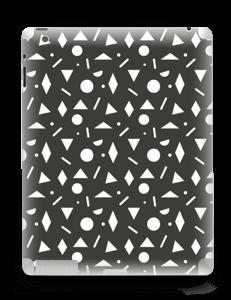 Black & White Art Skin IPad 4/3/2