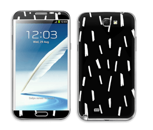Pluie de lumière Skin Galaxy Note 2