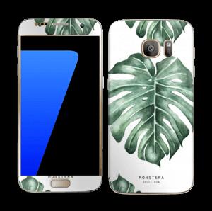 Monstera Deliciosa Skin Galaxy S7