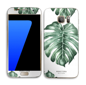 Monstera pattern Skin Galaxy S7