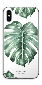 Monstera pattern Skin IPhone X