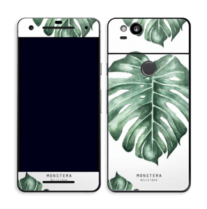 Monstera pattern Skin Pixel 2