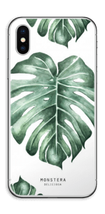 Monstera Deliciosa Skin IPhone XS