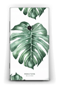 Monstera pattern Skin Nokia Lumia 920
