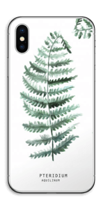 Pteridium Aquilinum Skin IPhone X