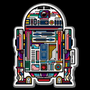 R2-D2 sticker