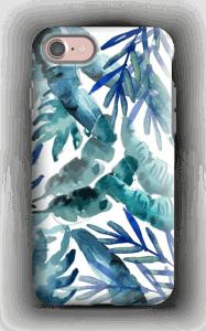 Sininen trooppinen sekoitus kuoret IPhone 7 tough