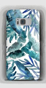 Sininen trooppinen sekoitus kuoret Galaxy S8