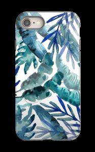 Sininen trooppinen sekoitus kuoret IPhone 8 tough