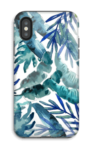 Tropical mix case IPhone X tough