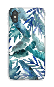 Tropical plant mix case IPhone XS