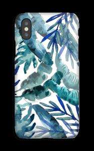 Sininen trooppinen sekoitus kuoret IPhone XS