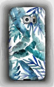Sininen trooppinen sekoitus kuoret Galaxy S6 Edge