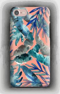 Färgglad tropisk mix skal IPhone 7