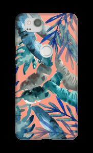 Mezcla Tropical Rosa funda Pixel 2