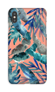 colorful tropics case IPhone XS Max