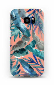 Farverig tropisk mix cover Galaxy S7 Edge