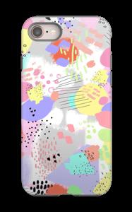 Abstrakt deksel IPhone 8 tough