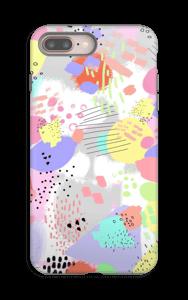 Abstrakt deksel IPhone 8 Plus tough