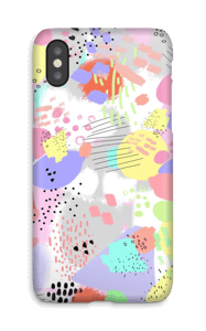 Abstracto Pastel funda IPhone X