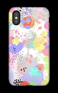 Abstrakt deksel IPhone X tough