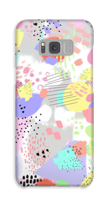 Abstrakt deksel Galaxy S8 Plus