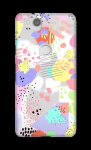 Abstracto Pastel funda Pixel 2
