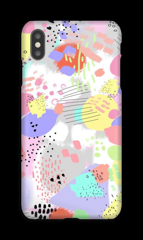 Abstrakt deksel IPhone XS Max