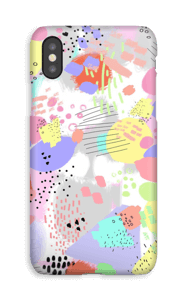 Colourful abstracts  case IPhone XS