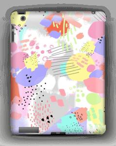 Abstract art case IPad 4/3/2