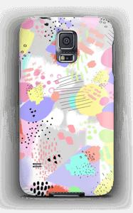 Abstrakt deksel Galaxy S5
