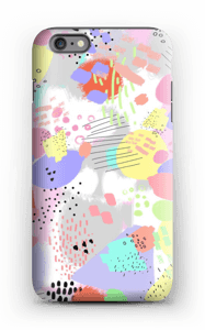 Abstract art case IPhone 6s Plus tough