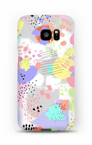 Couleurs abstraites Coque  Galaxy S7 Edge