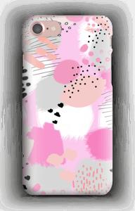 Abstrakti roosa kuoret IPhone 7
