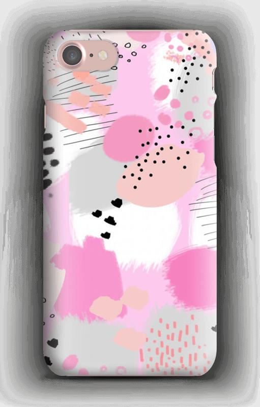 Abstrakt rosa deksel IPhone 7