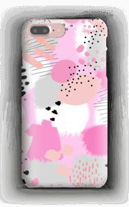 Abstrakt rosa deksel IPhone 7 Plus