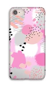 Rosa astratto cover IPhone 8