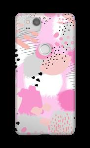 Abstracto Rosa funda Pixel 2