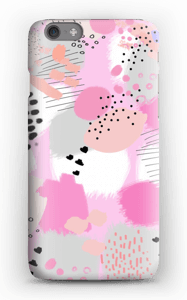 Abstrakt rosa deksel IPhone 6s