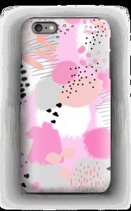 Abstrakt rosa deksel IPhone 6s Plus tough