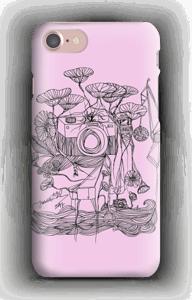 Kameraet og kranene rosa deksel IPhone 7