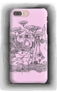 Kameraet og kranene rosa deksel IPhone 7 Plus