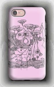 Kameraet og kranene rosa deksel IPhone 7 tough