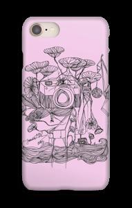 Kameraet og kranene rosa deksel IPhone 8