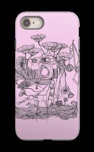 Kameraet og kranene rosa deksel IPhone 8 tough