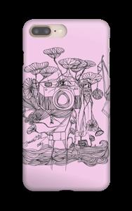 Kameraet og kranene rosa deksel IPhone 8 Plus