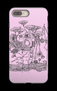 Kameraet og kranene rosa deksel IPhone 8 Plus tough